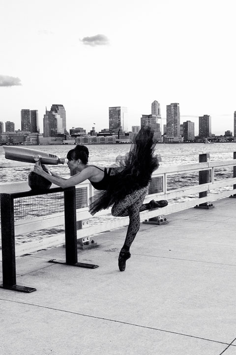 photo: Gina Pazcoguin: ballerina, contemporary dancer, Broadway dancer