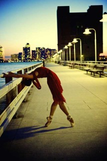 Photo: Broadway dancer Georgina Pazcoguin on the waterfront