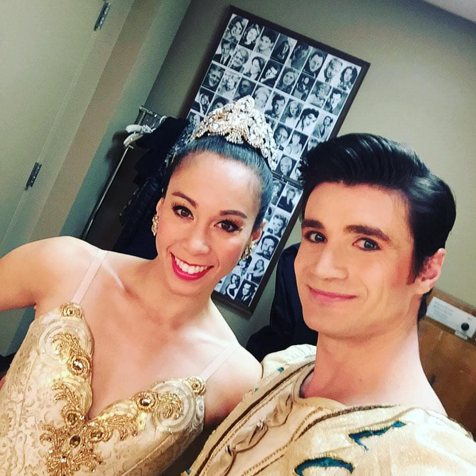 photo: Backstage at The Nutcracker