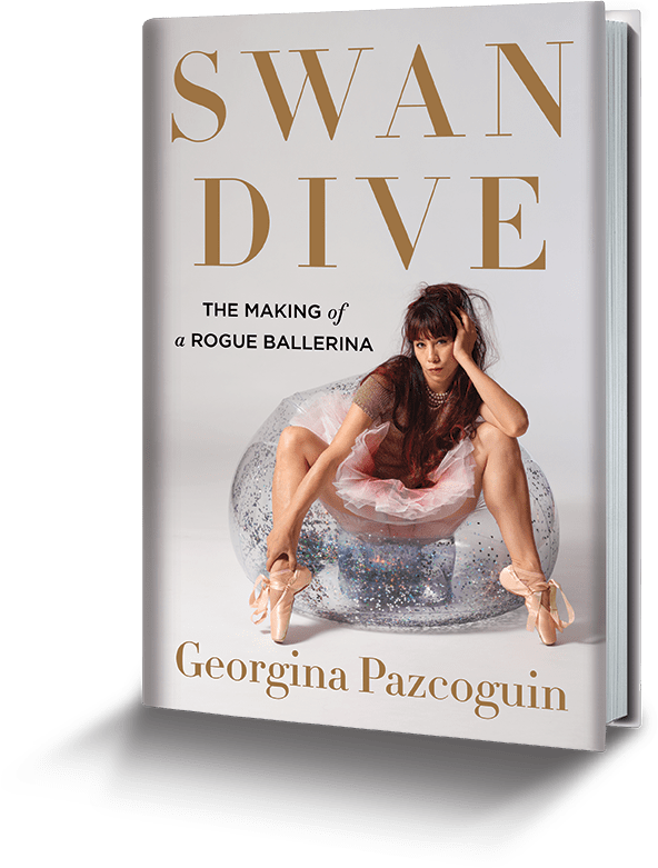 book cover: Swan Dive - the Making of a Rogue Ballerina